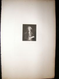 After Joshua Reynolds C1830 Folio Mezzotint. C. Rogers